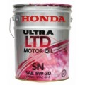 Motor Oil HONDA ULTRA LTD SN 5W-30 (20L)
