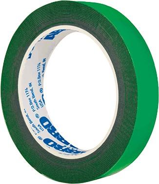 скотч двухсторонний 50мм зеленый